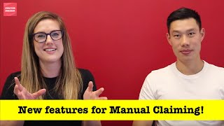Download NEW FEATURES ALERT! Improvements to Manual Claiming!! Video