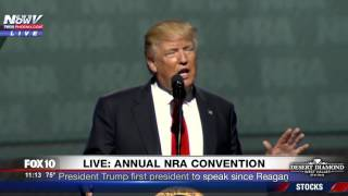 Download FULL SPEECH: Trump Speaks at NRA Convention in Atlanta, First President to Do So Since Reagan (FNN) Video