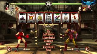 Download Mortal Kombat Komplete Mods Blood Queen Kitana Test Your Luck Madness Video