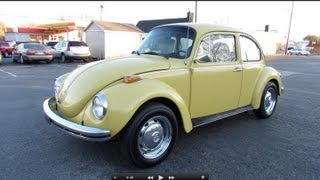 Download 1973 Volkswagen Super Beetle (VW 1303) Start Up, Exhaust, In Depth Review, and Test Drive Video