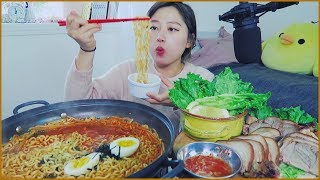 Download 1. When you crave Super Spicy Noodles...with Jokkbal Best combo!Mukbang Video