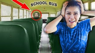 Download HACKER TRAPPED ME in ABANDONED SCHOOL BUS (Escape Room Challenge and Mystery Clues) Video