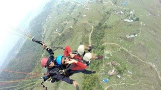 Download Paragliding at Nepal Video