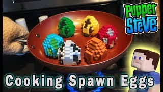 Download Minecraft Mini Figures Spawn Eggs Mattel Blind Surprise Full Set PlaySet Unboxing Puppet Steve Video