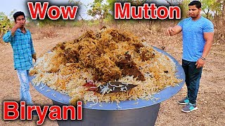 Download SPECIAL DUM MUTTON BIRYANI COOKING RANGERS STYLE IN JUNGLE Video