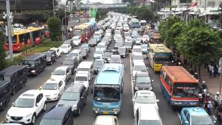 Download amazing traffic in Jakarta city Video