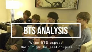 Download When BTS expose their 'might be' real couples (Taekook, Yoonmin, and Namjin) Video