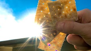 Download How to View the Solar Eclipse with a Saltine Cracker! Video