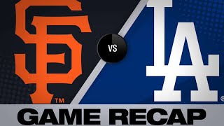 Download Taylor, Bellinger lead Dodgers to 9-2 win | Giants-Dodgers Game Highlights 6/19/19 Video