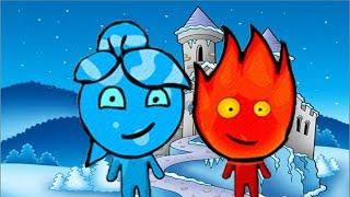 Download ПРИКЛЮЧЕНИЯ ОГОНЬ и ВОДА в Ледяном храме #2 Развлекательное видео для детей Игровой мультик Video