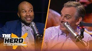 Download Derek Fisher on Kobe friendship, talks Lakers & Steph Curry translating in any era | NBA | THE HERD Video