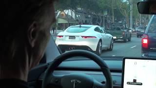 Download Tesla Model 3 tuned up from T-Sportline Video
