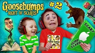 Download WEREWOLF KNOCKED OFF MIKE's HEAD ~🎃#@AHHH!@#%👻! GOOSEBUMPS NIGHT OF JUMP SCARES #2 (w/ FGTEEV Chase) Video