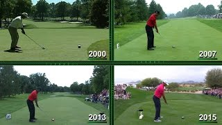 Download The evolution of Tiger Woods' swing Video