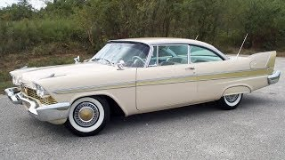 Download 1957-1959 Plymouth Fury - Best Plymouth Ever? Video