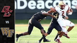Download Boston College vs. Wake Forest Football Highlights (2018) Video