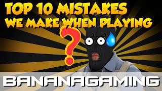 Download CS:GO - TOP 10 PLAYER MISTAKES Video
