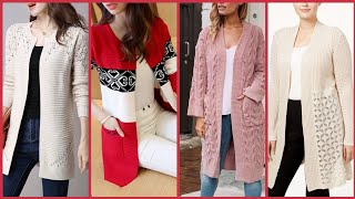 Download Gorgeous Cardigans And Sweaters Style For Working Women's //Latest Winter Wear Video