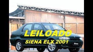 Download VENDIDO EM LEILÃO Fiat Siena ELX 1.3 mpi Fire 4p Ano 2001 Video
