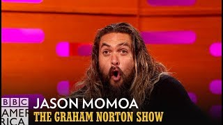 Download Jason Momoa Made A Grave Mistake While Shooting in Ice Cold Water - The Graham Norton Show Video