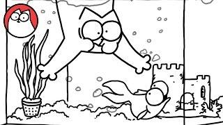 Download Fish Tank - Simon's Cat | SHORTS #55 Video