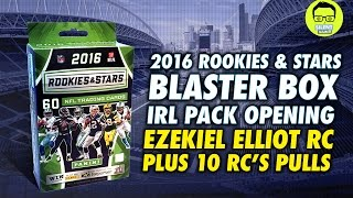 Download We Pulled Ezekiel Elliott Rc - IRL Pack Opening - ″2016 Panini Rookie & Stars″ Video