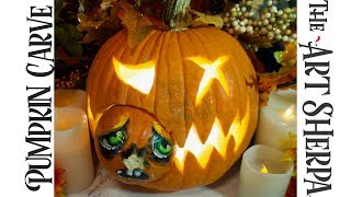 Download LIVE Pumpkin carving and a chance to Win a Set of carving tools for Friday the 13th Video