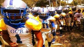 Download Youth Football highlights: Pop Warner playoffs jr pee wee Liberty City vs Gwen Cherry Bulls Video