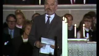 Download Hasse Alfredssons minnestal till Tage Danielsson Video