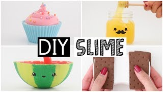 Download MAKING 4 AMAZING DIY SLIMES - Four EASY Slime Recipes! Video