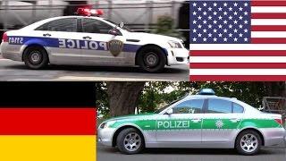 Download American Police Cars VS German Police Cars Video