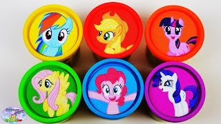Download My Little Pony Learning Colors with Play Doh Mane 6 MLP Surprise Egg and Toy Collector SETC Video