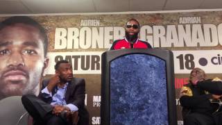 Download Adrien Broner why Floyd was not at his fight Video