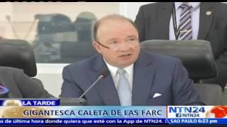 Download Hallan en el sur de Colombia escondite en el que las FARC tenían arsenal Video