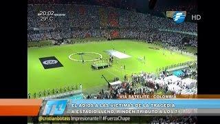Download El Atlético Nacional rinde emotivo tributo a la leyenda Chapecoense Video