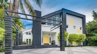 Download Modern and Spacious Waterfront Home in Miami Beach, Florida Video