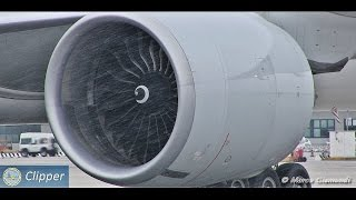 Download GE90-115B start-up! Incredible sound from very close! Video