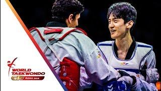 Download Roma 2018 World Taekwondo GP -Final [Male -68Kg] LEE, DAE-HOON(KOR) Vs DENISENKO, ALEXEY(RUS) Video