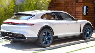 Download Porsche Taycan Review Update 2019 Video More Detail Electric Porsche Mission E Cross Turismo Video
