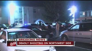 Download Deadly shooting on Indy's northwest side Video