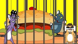 Download Rat-A-Tat |'Food & Fun Mice Cage Lock Break Food Cartoons NewEp'| Chotoonz Kids Funny Cartoon Videos Video
