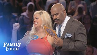 Download The ALBERTSENS are after $20,000! | Family Feud Video