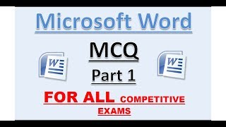 Download (Part 1) MS word MCQ | Detailed explanation. Video