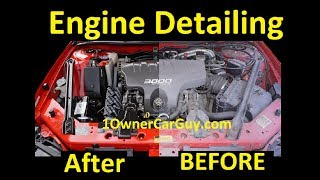 Download ENGINE DEGREASE ~ HOW TO SCRUB CHEMICAL DETAIL CAR DETAILING Video