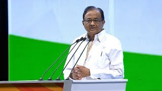 Download P Chidambaram Speech at the Congress Plenary Session 2018 Video