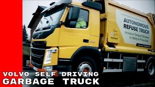 Download Volvo Autonomous Self Driving Garbage Truck Video