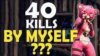 Download 40 KILLS ALONE? | WORLD RECORD | MOST KILLS EVER IN FORTNITE HISTORY - (Fortnite Battle Royale) Video