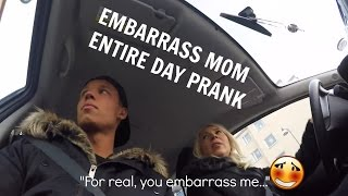 Download EMBARRASS MY MOTHER THE ENTIRE DAY PRANK Video