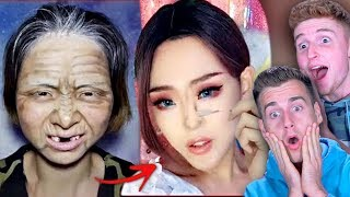 Download VIRAL ASIAN MAKE UP TRANSFORMATION TUTORIAL Ft. Infinite Lists Video
