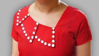 Download Overlapped Collar Neck Design   Kurti Collar Neck Designs Video